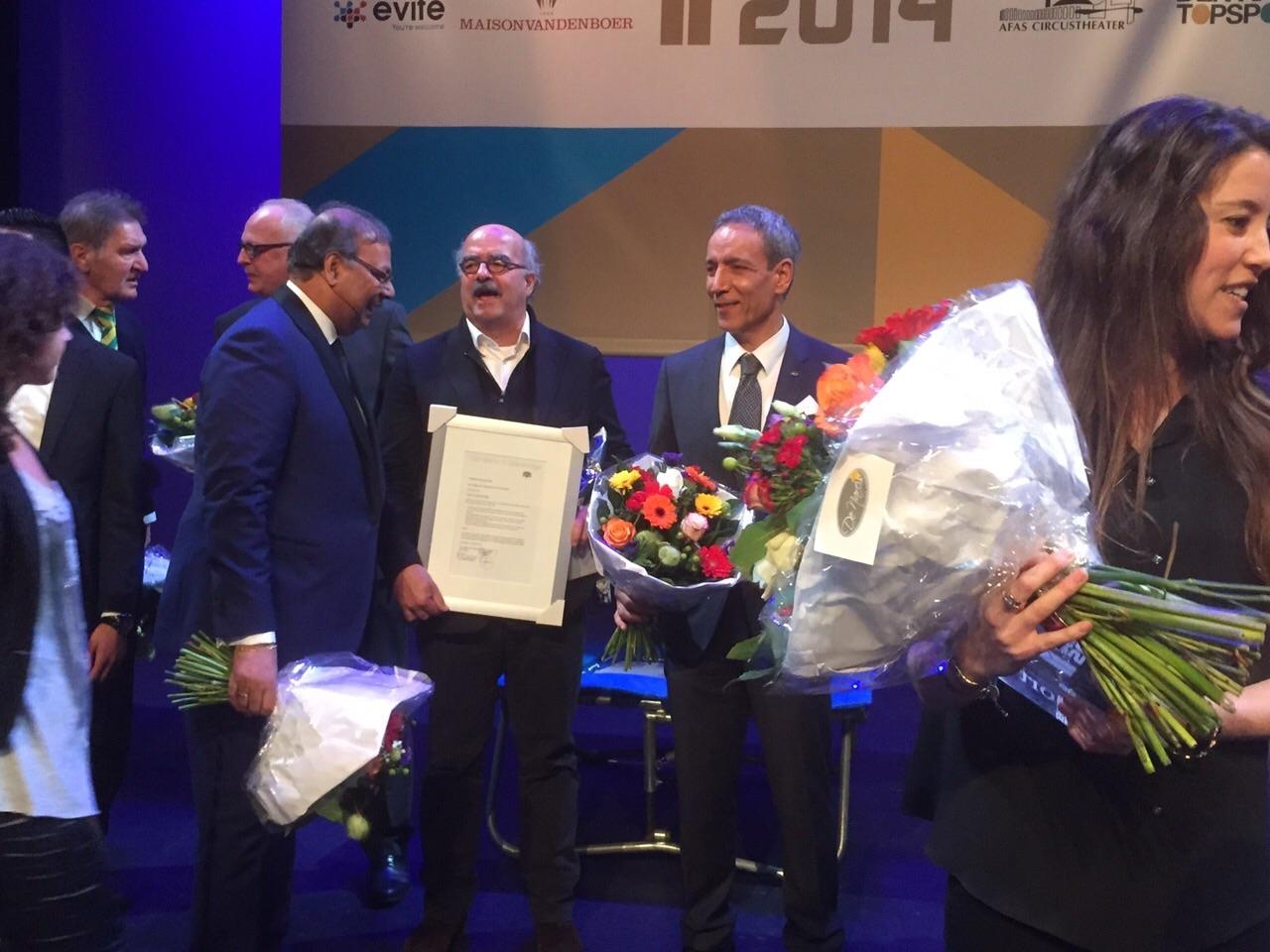 Grootmeester Jafar Zareei wint Oeuvreprijs 2014!