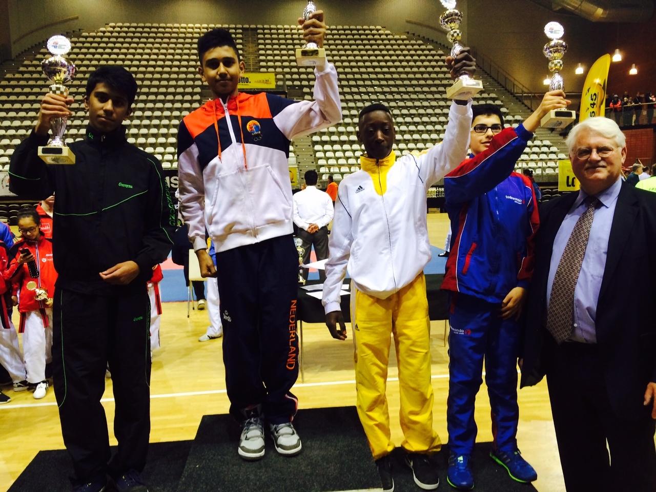 Haagse Topsportvereniging Taekwondo Koryo Den Haag is wederom de beste van Nederland!