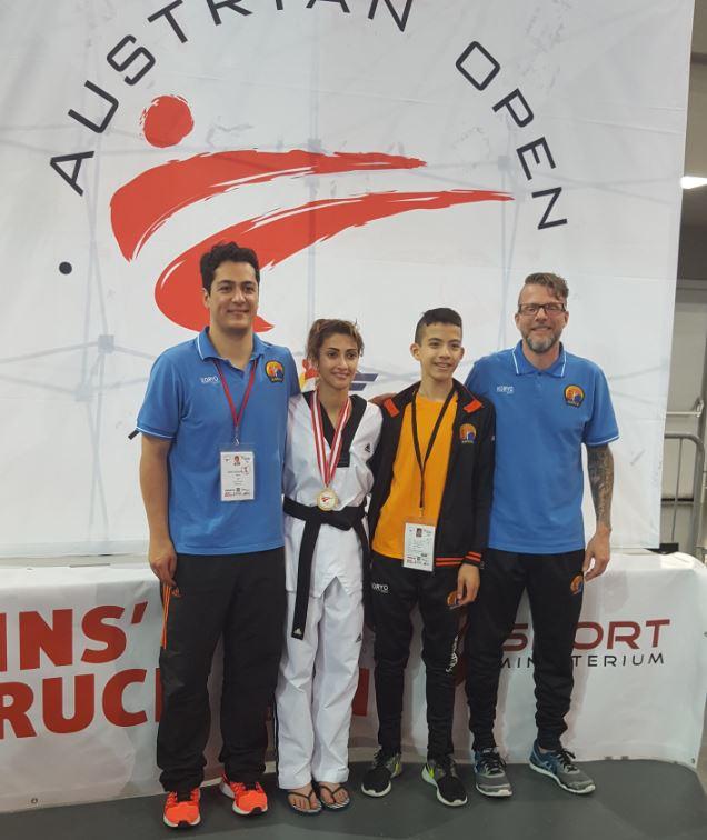 Goud op Austrian Open