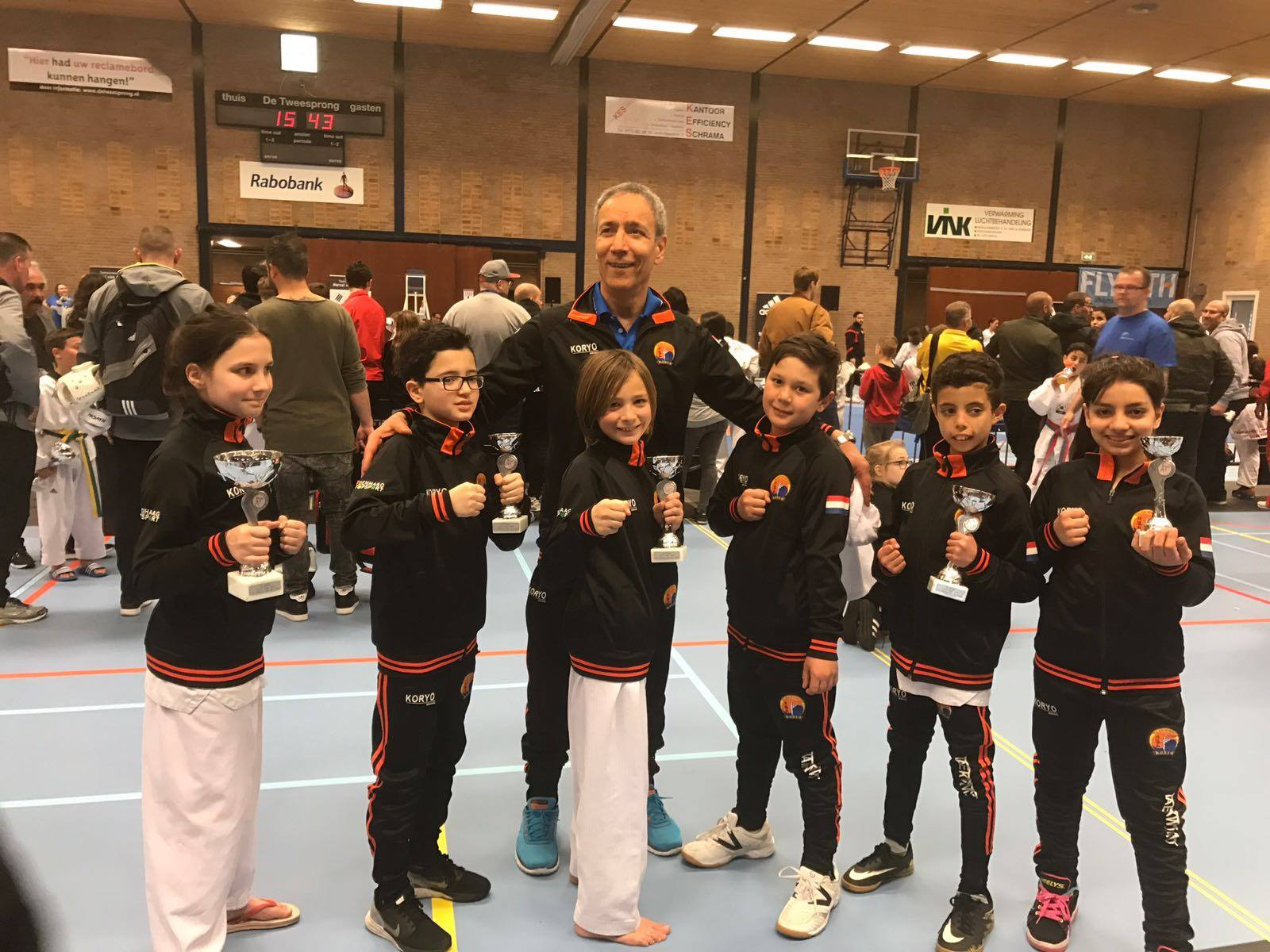 Super resultaten Open districtskampioenschappen west 2017
