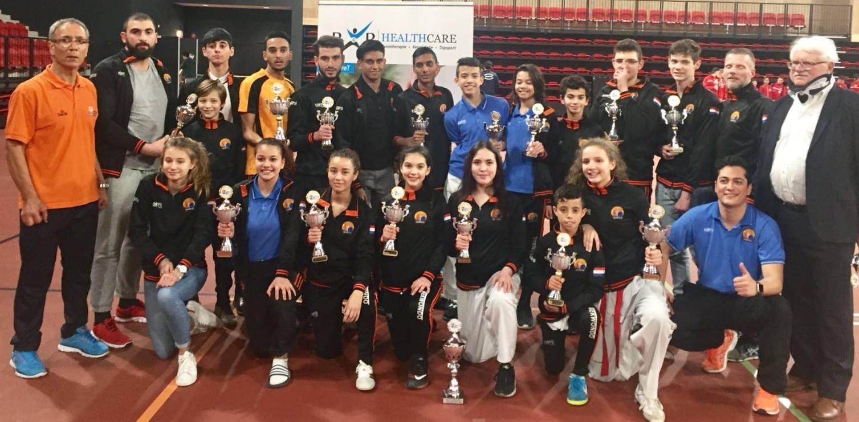 NK 2018 in Den Haag: 8 nieuwe nationaal kampioenen voor Koryo!
